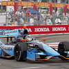 MARCH 23: Alex Tagliani at IndyCar qualifying at the Honda Grand Prix of St. Petersburg