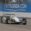MARCH 22: Ed Carpenter at IndyCar practice at the Honda Grand Prix of St. Petersburg.