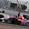 MARCH 22: Track action at IndyCar practice at the Honda Grand Prix of St. Petersburg.
