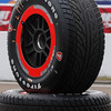 MARCH 23: Firestone tires ready to go at IndyCar qualifying at the Honda Grand Prix of St. Petersburg