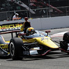 MARCH 23: Oriol Servia at IndyCar qualifying at the Honda Grand Prix of St. Petersburg