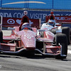 July 13:  Track action during the Indy Honda Toronto race.
