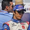 July 14: Takuma Sato during the Indy Honda Toronto race.