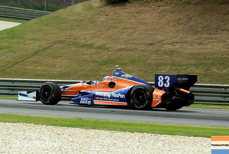 April 27: Charlie Kimball during the Honda Indy Grand Prix of Alabama