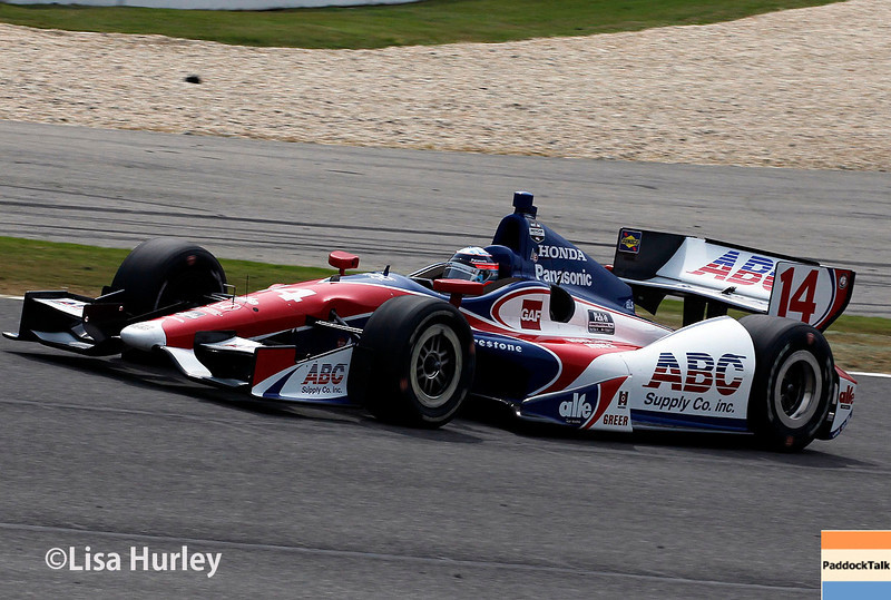 April 27: Takuma Sato during the Honda Indy Grand Prix of Alabama