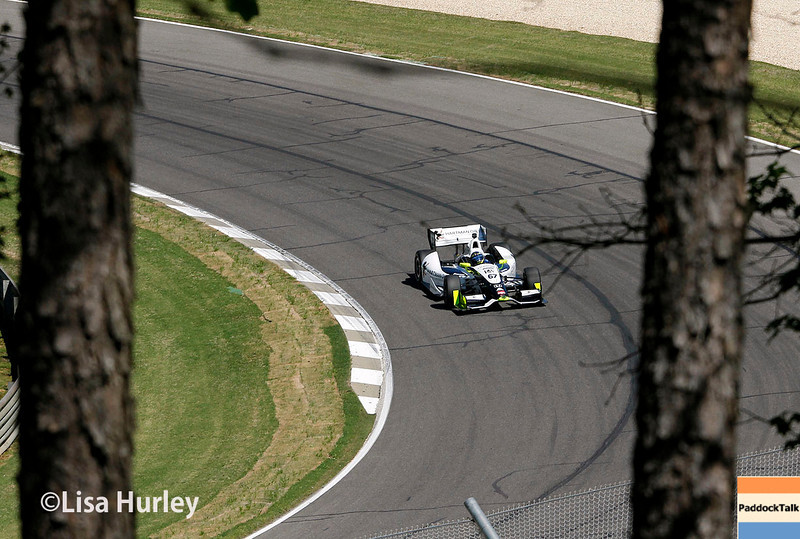 April 26: Josef Newgarden during qualifying for the Honda Indy Grand Prix of Alabama