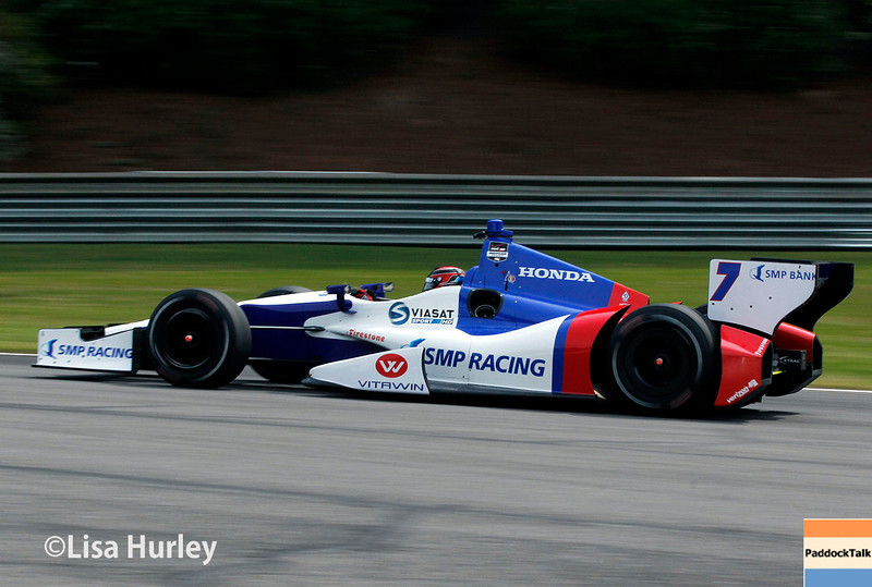 April 27: Mikhail Aleshin during the Honda Indy Grand Prix of Alabama