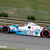 April 26: James Hinchcliffe during qualifying for the Honda Indy Grand Prix of Alabama