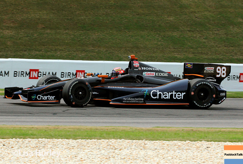 April 27: Jack Hawksworth during the Honda Indy Grand Prix of Alabama