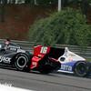 April 27: Oriol Servia and Ryan Briscoe during the Honda Indy Grand Prix of Alabama