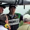 April 27: Sebastien Bourdais during the Honda Indy Grand Prix of Alabama