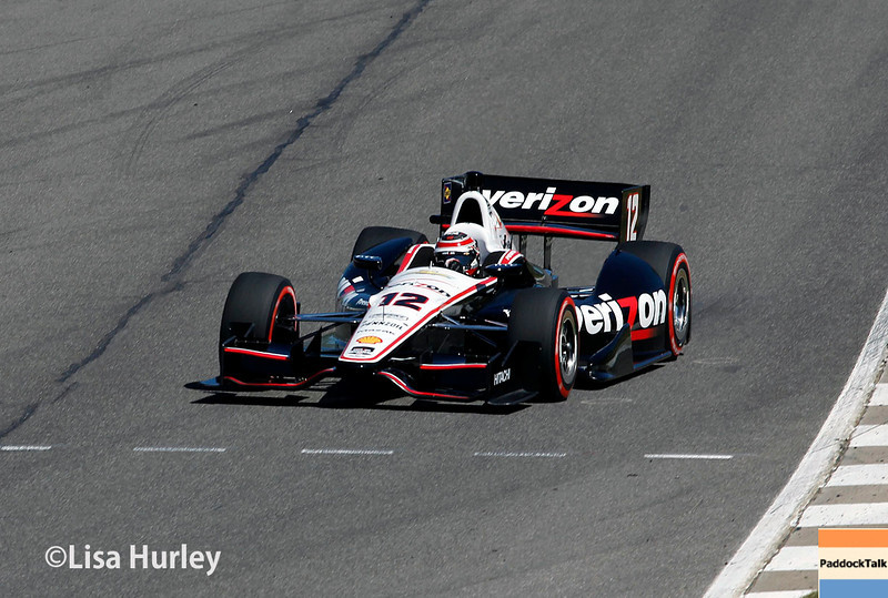 April 26: Will Power during qualifying for the Honda Indy Grand Prix of Alabama
