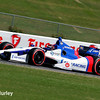 April 26: Mikhail Aleshin during qualifying for the Honda Indy Grand Prix of Alabama