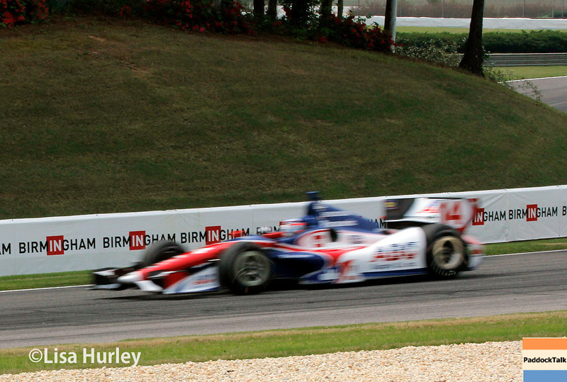 April 27: Takuma Sato during the Honda Indy Grand Prix of Alabama