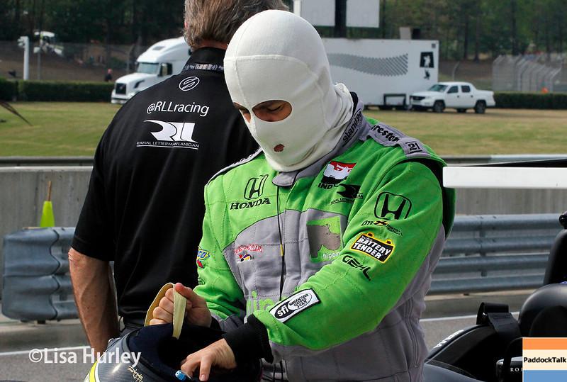 April 27: Oriol Servia during the Honda Indy Grand Prix of Alabama