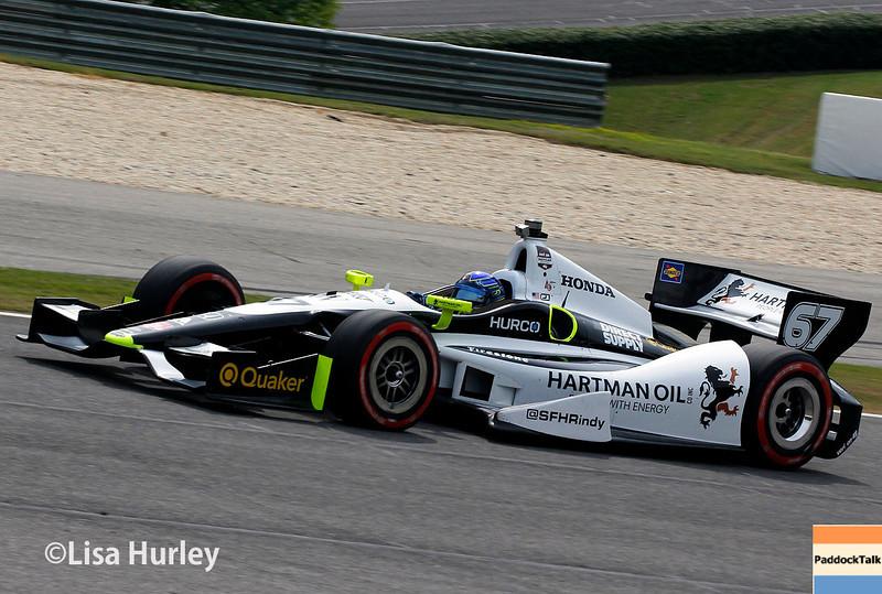 April 27: Josef Newgarden during the Honda Indy Grand Prix of Alabama