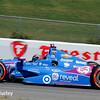 April 26: Tony Kanaan during qualifying for the Honda Indy Grand Prix of Alabama