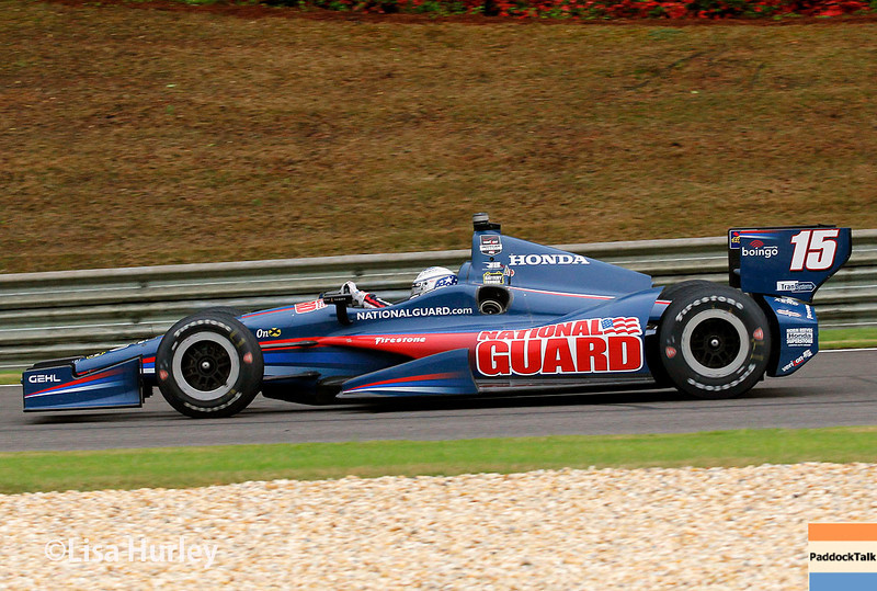 April 27: Graham Rahal during the Honda Indy Grand Prix of Alabama