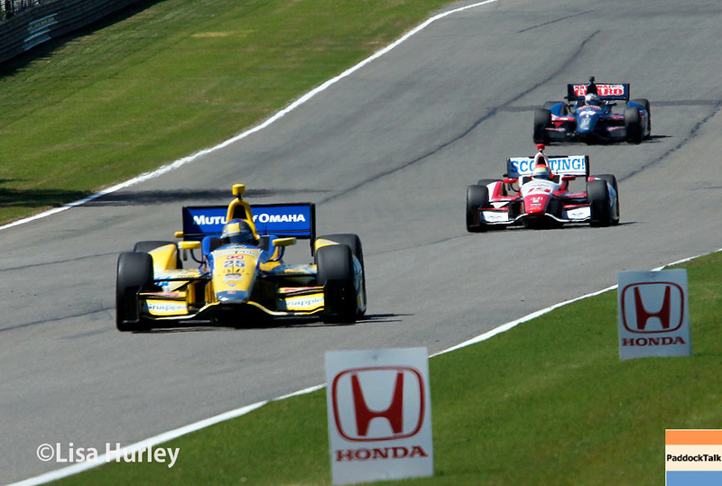 April 26: Track action during qualifying for the Honda Indy Grand Prix of Alabama