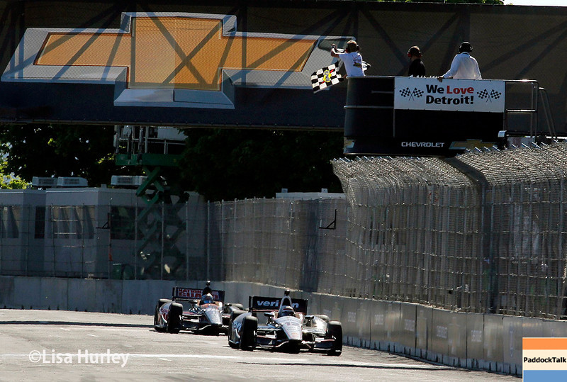 May 31: Will Power wins Race 1 of the Chevrolet Detroit Belle Isle Grand Prix.