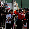 June 1: Helio Castroneves' team celebrates after winning Race 2 of the Chevrolet Detroit Belle Isle Grand Prix.