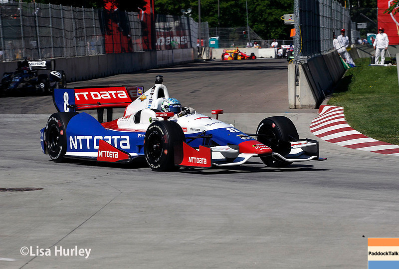 May 31: Ryan Briscoe during Race 1 of the Chevrolet Detroit Belle Isle Grand Prix.