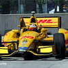 May 30: Ryan Hunter-Reay during practice for the Chevrolet Detroit Belle Isle Grand Prix.