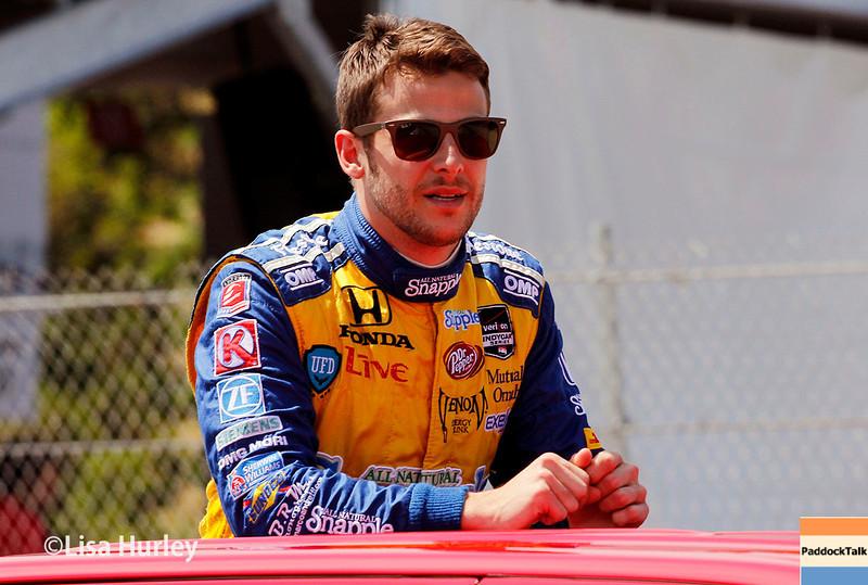 June 1: Marco Andretti before Race 2 of the Chevrolet Detroit Belle Isle Grand Prix.