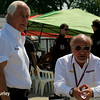 May 30: Roger Penske and Kevin Kalkhoven during practice for the Chevrolet Detroit Belle Isle Grand Prix.