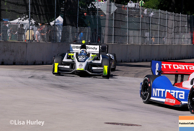 May 31: Josef Newgarden during Race 1 of the Chevrolet Detroit Belle Isle Grand Prix.