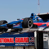 May 30: Graham Rahal's transport before practice for the Chevrolet Detroit Belle Isle Grand Prix.