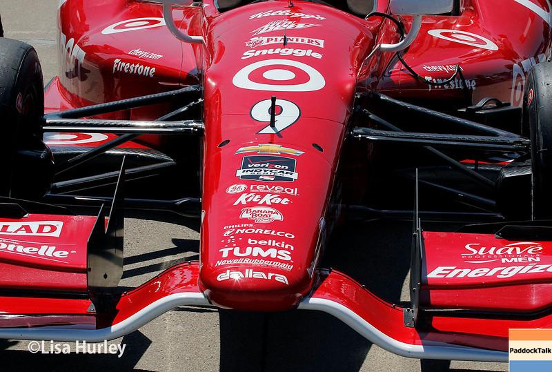 May 31: Scott Dixon's car before Race 1 of the Chevrolet Detroit Belle Isle Grand Prix.