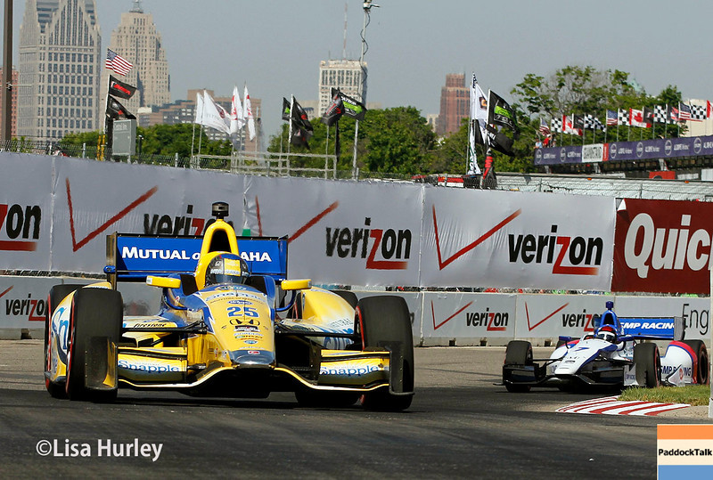 June 1: Track action during qualifying for Race 2 of the Chevrolet Detroit Belle Isle Grand Prix.