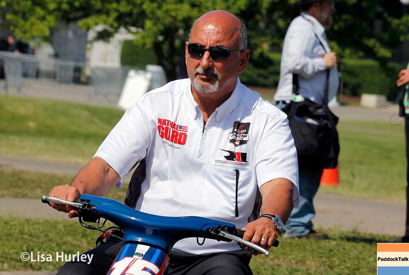 June 1: Bobby Rahal during qualifying for Race 2 of the Chevrolet Detroit Belle Isle Grand Prix.