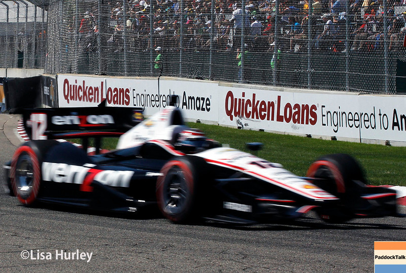 May 31: Will Power during Race 1 of the Chevrolet Detroit Belle Isle Grand Prix.