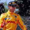 June 1: Ryan Hunter-Reay before Race 2 of the Chevrolet Detroit Belle Isle Grand Prix.