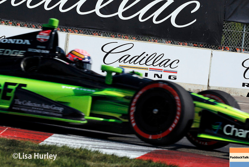 June 1: Jack Hawksworth during qualifying for Race 2 of the Chevrolet Detroit Belle Isle Grand Prix.