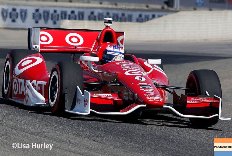 June 1: Scott Dixon during qualifying for Race 2 of the Chevrolet Detroit Belle Isle Grand Prix.