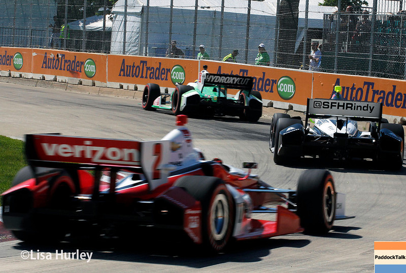 May 31: Track action during Race 1 of the Chevrolet Detroit Belle Isle Grand Prix.