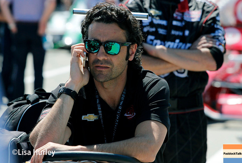 May 31: Dario Franchitti before Race 1 of the Chevrolet Detroit Belle Isle Grand Prix.