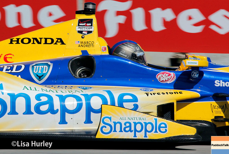 May 31: Marco Andretti during Race 1 of the Chevrolet Detroit Belle Isle Grand Prix.