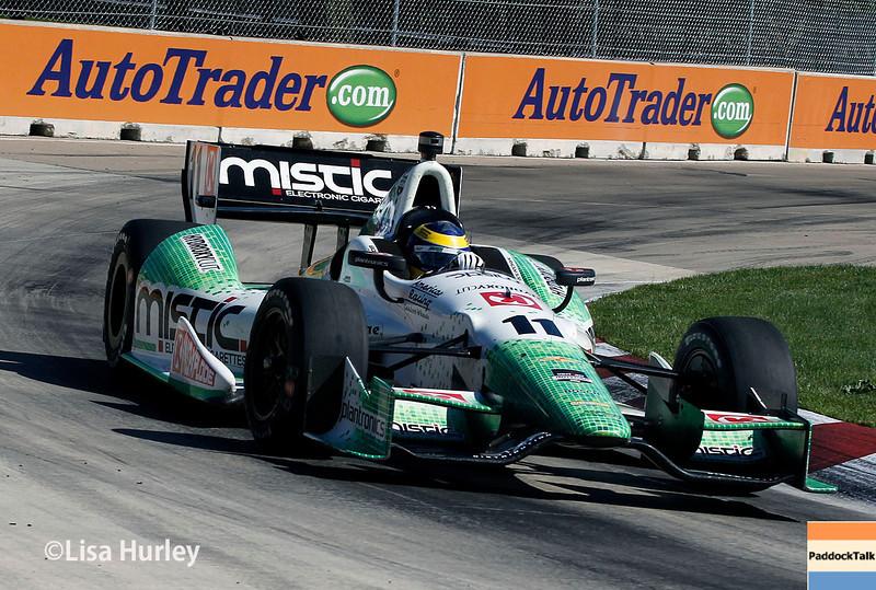 June 1: Sebastien Bourdais during Race 2 of the Chevrolet Detroit Belle Isle Grand Prix.