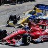 June 1: Marco Andretti and Scott Dixon during Race 2 of the Chevrolet Detroit Belle Isle Grand Prix.