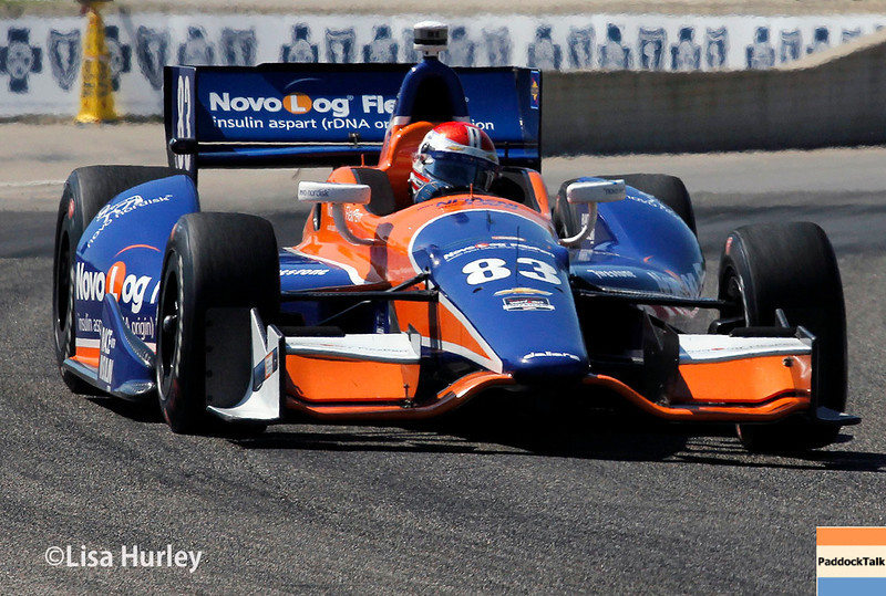 May 31: Charlie Kimball during Race 1 of the Chevrolet Detroit Belle Isle Grand Prix.