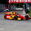 May 31: Sebastian Saavedra during Race 1 of the Chevrolet Detroit Belle Isle Grand Prix.