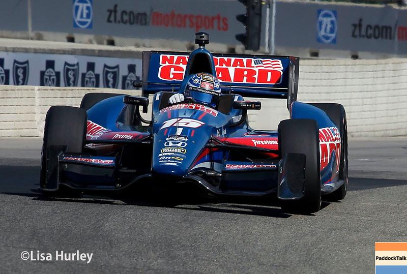 June 1: Graham Rahal during qualifying for Race 2 of the Chevrolet Detroit Belle Isle Grand Prix.