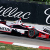 June 1: Helio Castroneves during qualifying for Race 2 of the Chevrolet Detroit Belle Isle Grand Prix.