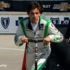 May 30: Carlos Munoz before practice for the Chevrolet Detroit Belle Isle Grand Prix.