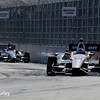 May 31: Graham Rahal and Will Power during Race 1 of the Chevrolet Detroit Belle Isle Grand Prix.