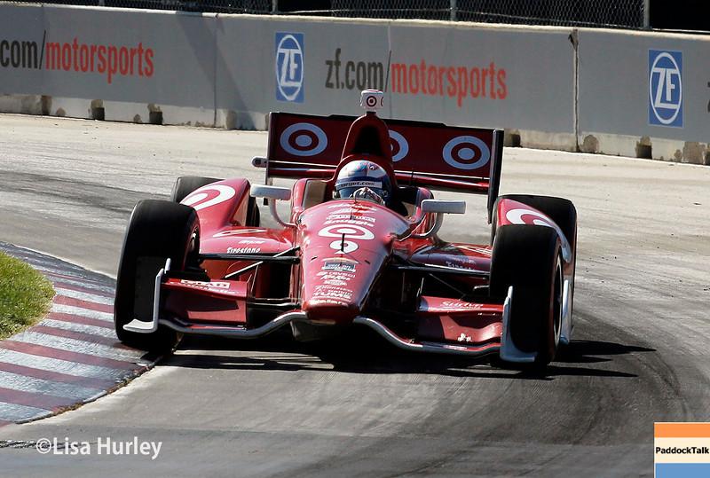 May 31: Scott Dixon during Race 1 of the Chevrolet Detroit Belle Isle Grand Prix.